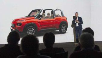Citroën lance sa e-Méhari avec l'aide de Bolloré